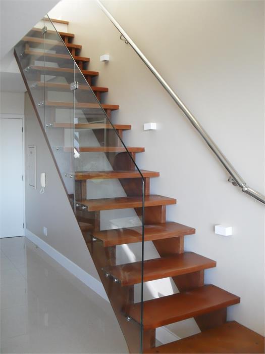 Fabuloso Madetal Escadas de madeira e metálicas: escada de madeira I escada  OO06